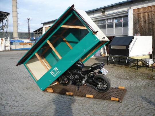 Planen Krämer - Motorradgaragen